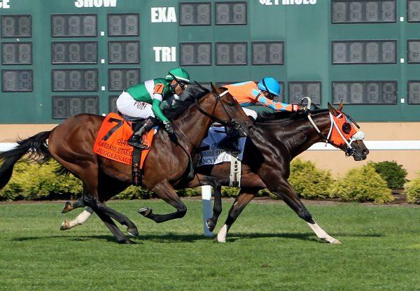 Fancy Liquor Lookin At Lucky Winning Caesars Stakes