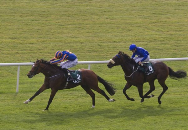 Gleneagles winning the National Stakes at the Curragh