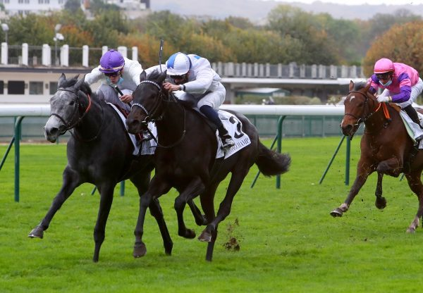 Incarville (Wootton Bassett) Wins The Prix De La Masseliere at Longchamp