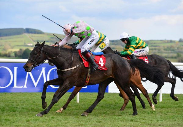 Koshari (Walk In The Park) Wins The Grade B Baroneracing Com Handicap Hurdle At Punchestown