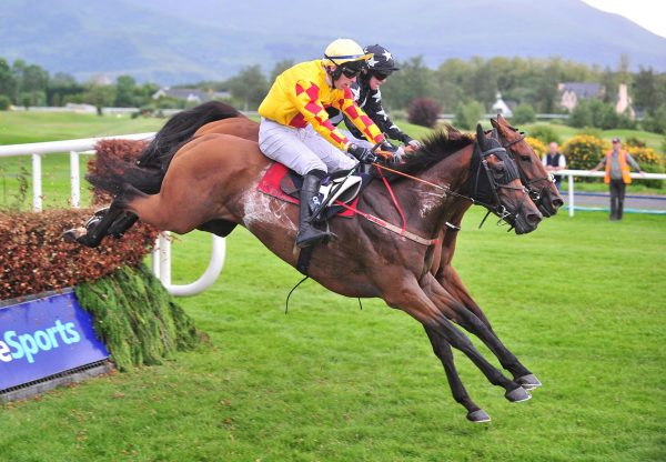 Lakemilan (Milan) winning the Grade B BoyleSports Handicap Chase at Killarney