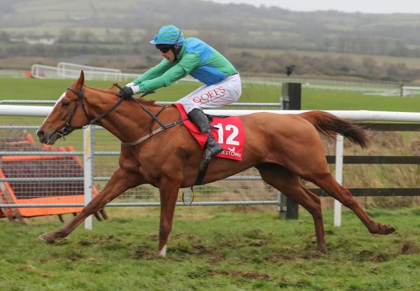 Line Break Wins The Bumper At Punchestown