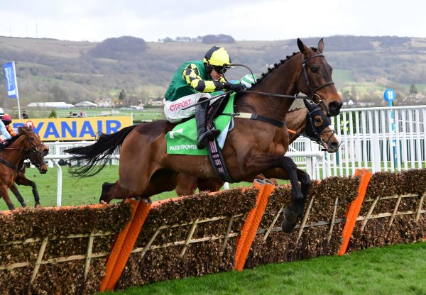 Heaven Help Us (Yeats) winning a maiden hurdle at Cheltenham