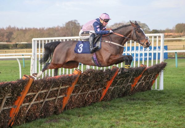 Lord Yeats Wins His Maiden Hurdle Unchallenged