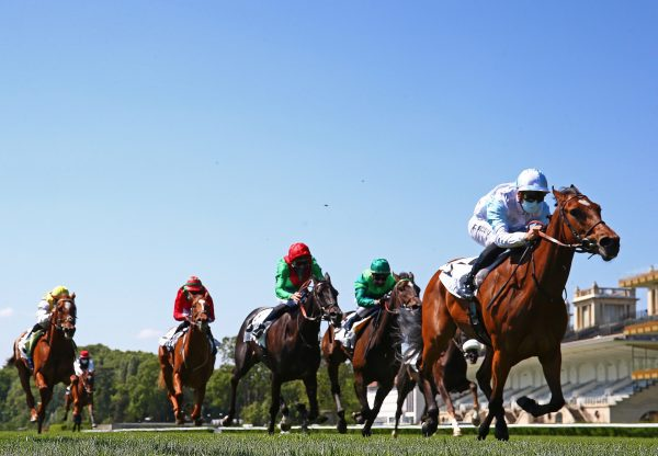 Magic Attitude (Galileo) Wins The Gr.3 Prix Vanteaux at Longchamp
