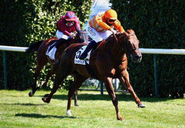 Marianafoot (Footstepsinthesand) Wins The Listed Prix Servanne At Chantilly