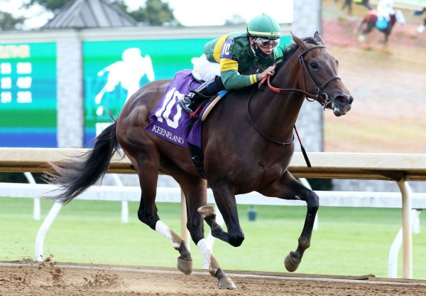 Off We Go (Air Force Blue) Breaks Maiden At Keeneland