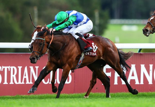 One Master (Fastnet Rock) Wins The Group 1 Prix De La Foret at ParisLongchamp