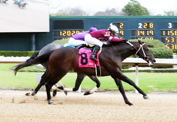 Pneumatic Uncle Mo Breaking Oaklawn Maiden