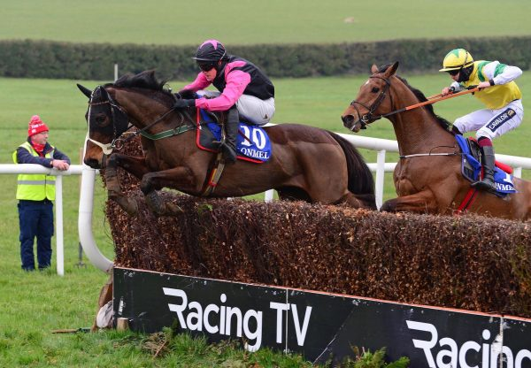 Southerner (Westerner) Wins The Beginners Chase At Clonmel