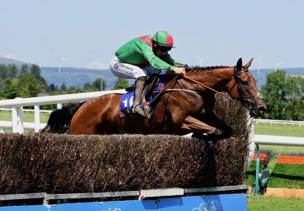 The Cathal Don (Westerner) winning a Beginners Chase at Tipperary