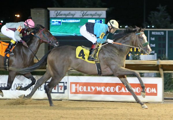 The Sky Is Falling (Cupid) Wins Charles Town MSW