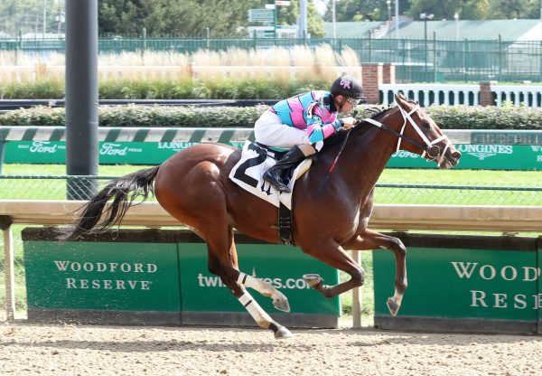 Twilight Blue (Air Force Blue) Wins Churchill Downs Maiden