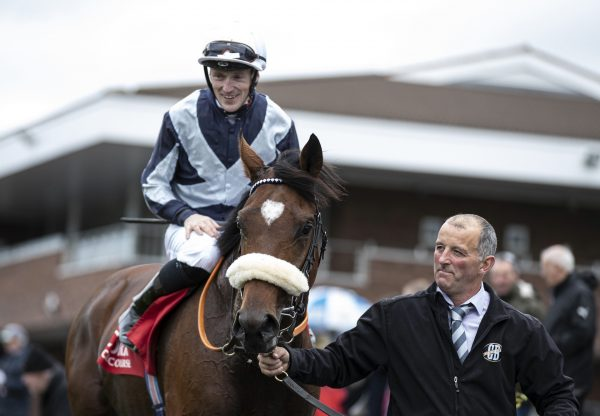 Up Helly Aa (Galileo) after winning the Listed Navigation Stakes at Cork