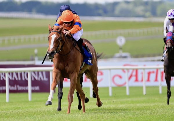 Velocidad (Gleneagles) Lands The Group 2 Airlie Stud Stakes At The Curragh