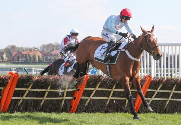 Verdana Blue (Getaway) Impresses In The Scottish Champion Hurdle