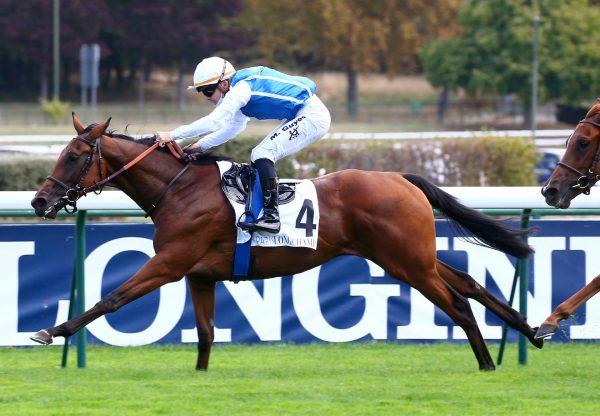 Virtuosite (Camelot) Wins Her Maiden At Longchamp
