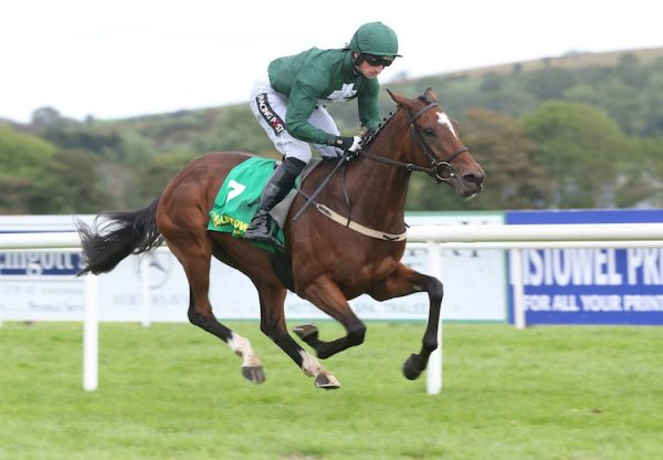 Fascinating Rock (Fastnet Rock) winning the G3 Mooresbridge Stakes at the Curragh