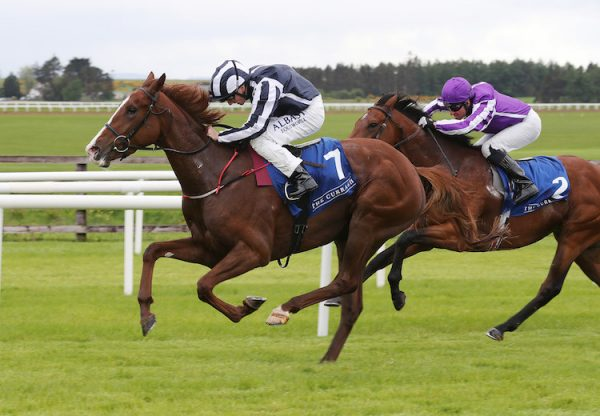 Hand On Heart (Mastercraftsman) winning at the Curragh