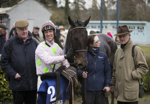 Koshari (Walk In The Park) pictured with connections after winning the Suir Valley Chase at Clonmel