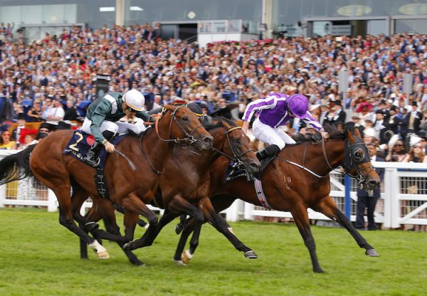Merchant Navy (Fastnet Rock) winning the G1 Diamond Jubilee at Royal Ascot