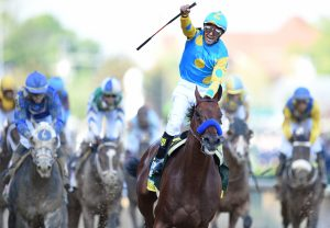 American Pharoah After Winning The Kentucky Derby At Churchill Downs