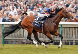 Churchill (Galileo) winning the G1 2000 Guineas at Newmarket