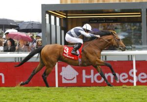 Circus Maximus wins the Listed Dee Stakes at Chester