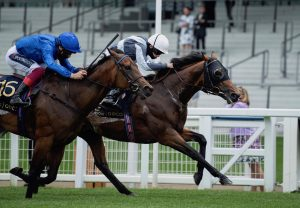 Broome (Australia) winning a maiden at the Galway Festival