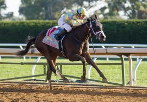 Classic Empire Winning The G2 Breeders Cup Futurity