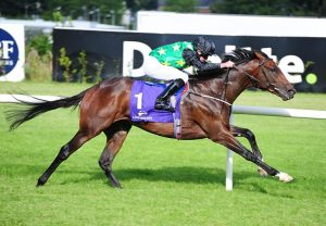 One Master (Mastercraftsman) winning the G3 Coolmore Stud Fairy Bridge Stakes at Tipperary