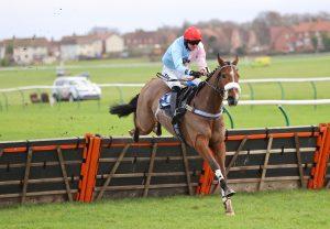 Verdana Blue (Getaway) winning a bumper at Killarney