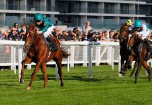 Wind Chimes (Mastercraftsman) winning the G3 Prix de Lieuriey at Deauville