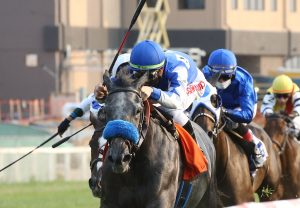 Anaheed (Fastnet Rock) winning the Gr.3 Blue Sapphire Stakes at Caulfield