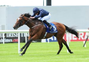 Gustav Klimt winning his maiden at the Curragh