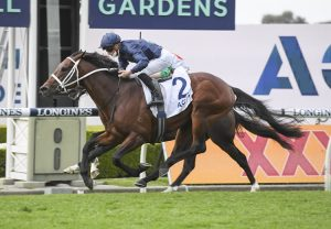 Inference (So You Think) winning the ATC Randwick Guineas