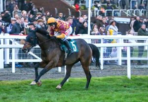 Getaway John (Getaway) winning a bumper at Fairyhouse