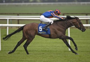 Silence Please (Gleneagles) After Winning The Listed Salsabil Stakes at Navan