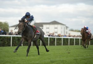 Kingston Hill (Mastercraftsman) winning the G1 Racing Post Trophy at Doncaster