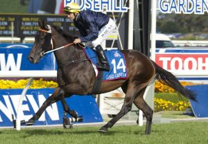Levendi (Pierro) winning the G1 Australian Derby at Randwick