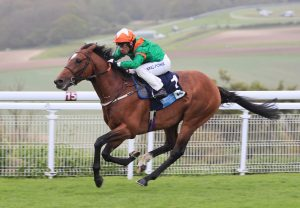 Roman Turbo (Holy Roman Emperor) winning the Gr.3 Anglesey Stakes at the Curragh