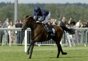Mahler winning the Queens Vase