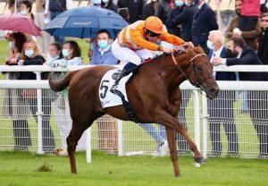Sir Ron Priestley (Australia) Wins The Group 2 Jockey Club Stakes at Newmarket