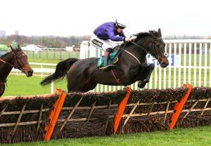 Actress (Declaration Of War) winning the G3 Ballyogan Stakes at the Curragh
