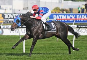Pierro Winning The G1 Champagne Stakes