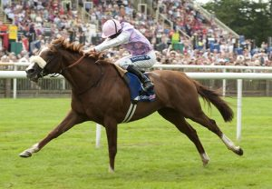 Sans Frontieres winning the Prince Of Wales's Stakes at Newmarket