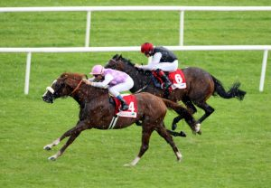Sans Frontieres winning the G1 Irish St Leger