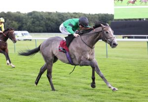 Winx winning the Turnball Stakes