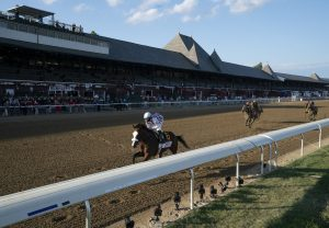 Tiz The Law Winning The Travers