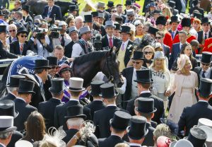 Wings Of Eagles After winning the Epsom Derby